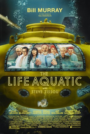 The Life Aquatic with Steve Zissou - Movie Poster (thumbnail)