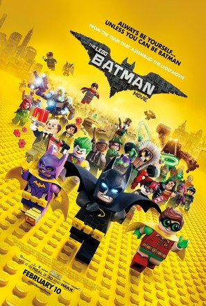 The Lego Batman Movie - Theatrical movie poster (thumbnail)