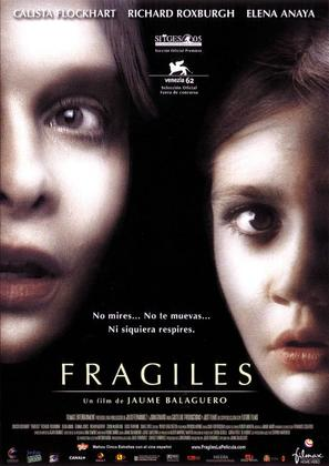 Frágiles - Spanish Movie Poster (thumbnail)