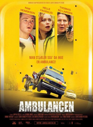 Ambulancen - Danish Movie Poster (thumbnail)