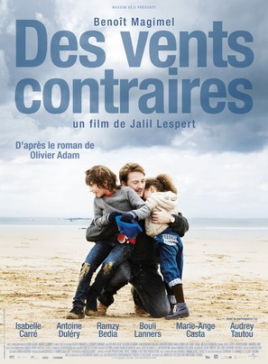 Des vents contraires - French Movie Poster (thumbnail)