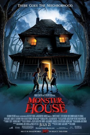 Monster House - Advance poster (thumbnail)