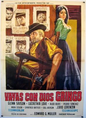 Vaya con dios gringo - Italian Movie Poster (thumbnail)