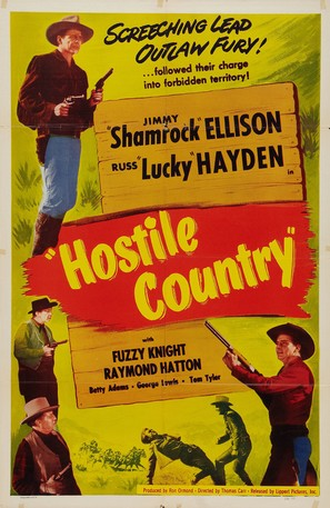 Hostile Country - Movie Poster (thumbnail)