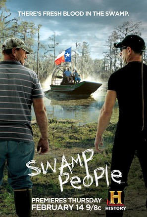 """Swamp People"" - Movie Poster (thumbnail)"