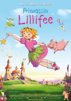 Prinzessin Lillifee - German Theatrical poster (thumbnail)