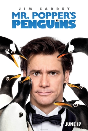 Mr. Popper's Penguins - Movie Poster (thumbnail)