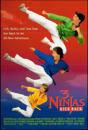 3 Ninjas Kick Back - Movie Poster (thumbnail)