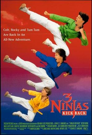 3 Ninjas Kick Back - Movie Poster (thumbnail)