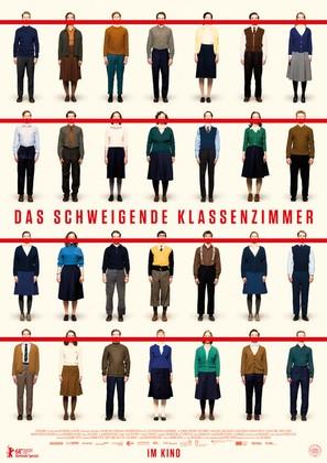 Das schweigende Klassenzimmer - German Movie Poster (thumbnail)
