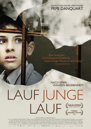 Lauf Junge lauf - German Movie Poster (thumbnail)