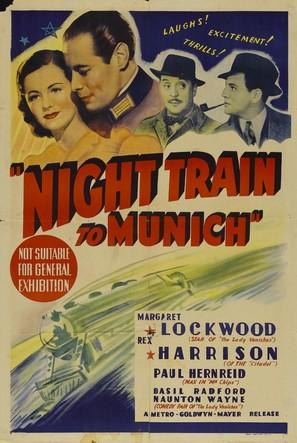 Night Train to Munich - Australian Movie Poster (thumbnail)