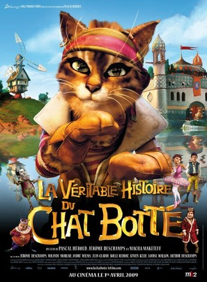 La véritable histoire du Chat Botté - French Movie Poster (thumbnail)