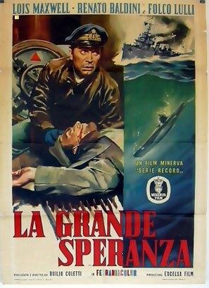 La grande speranza - Italian Movie Poster (thumbnail)