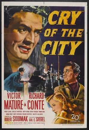 Cry of the City - Movie Poster (thumbnail)