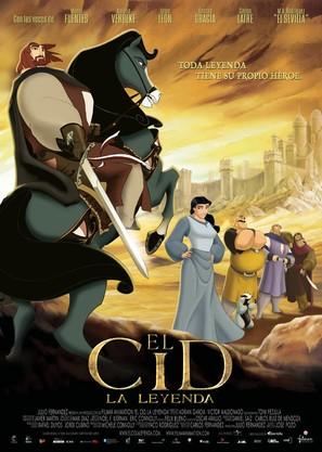 Cid: La leyenda, El - Spanish Movie Poster (thumbnail)