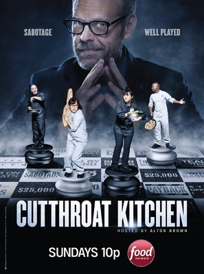 """Cutthroat Kitchen"" - Movie Poster (thumbnail)"