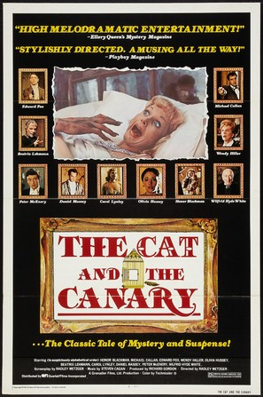 The Cat and the Canary - Movie Poster (thumbnail)