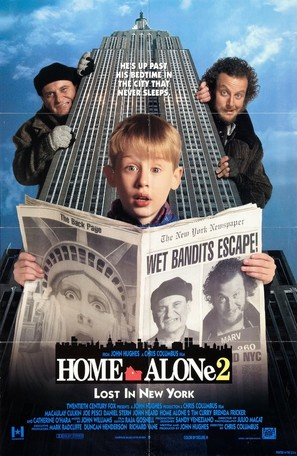 Home Alone 2: Lost in New York - Movie Poster (thumbnail)
