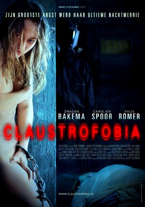 Claustrofobia - Dutch Movie Poster (thumbnail)