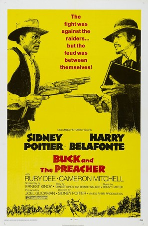Buck and the Preacher - Movie Poster (thumbnail)