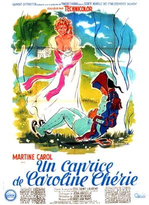 Un caprice de Caroline chérie - French Movie Poster (thumbnail)