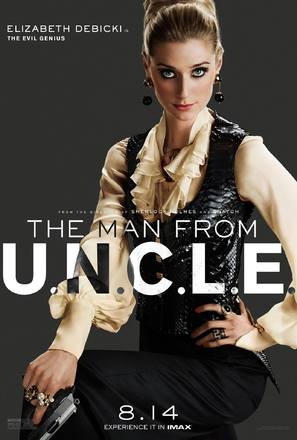 The Man from U.N.C.L.E. - Character movie poster (thumbnail)