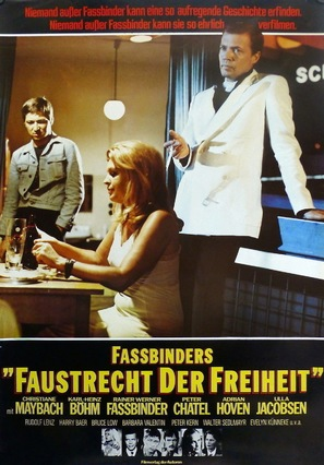 Faustrecht der Freiheit - German Movie Poster (thumbnail)