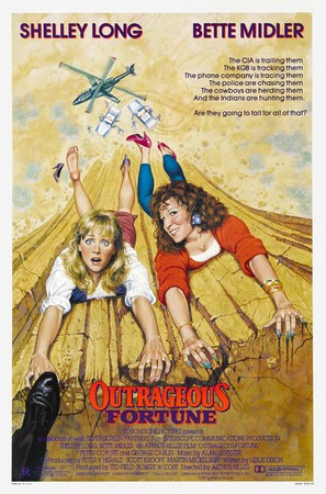 Outrageous Fortune - Movie Poster (thumbnail)