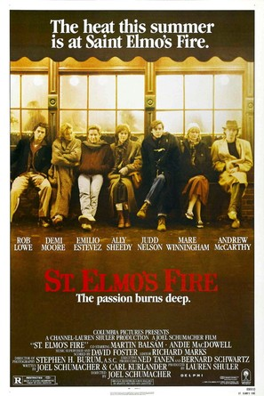 St. Elmo's Fire - Movie Poster (thumbnail)