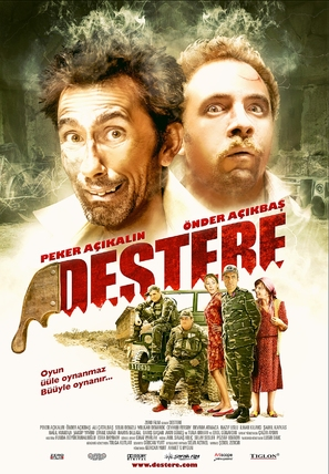 Destere - Turkish Movie Poster (thumbnail)