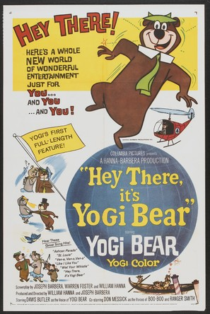 Hey There, It's Yogi Bear - Movie Poster (thumbnail)