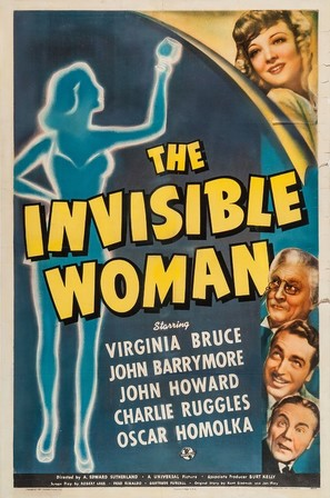 The Invisible Woman - Movie Poster (thumbnail)