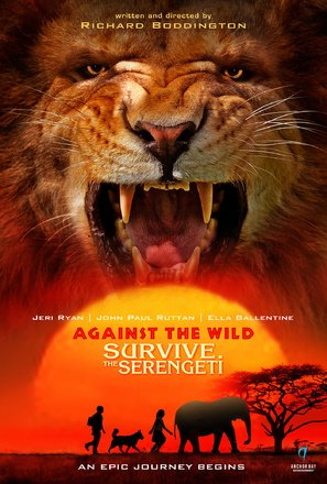 Against the Wild 2: Survive the Serengeti - Movie Poster (thumbnail)