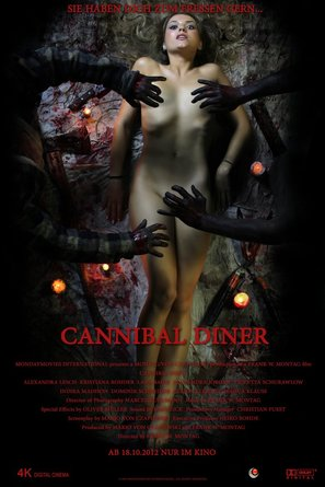 Cannibal Diner - German Movie Poster (thumbnail)