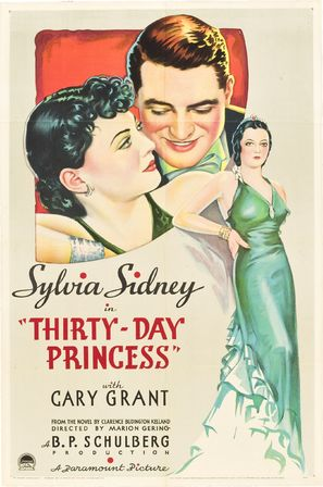 Thirty Day Princess - Movie Poster (thumbnail)