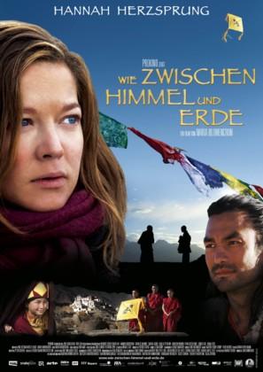 Wie zwischen Himmel und Erde - German Movie Poster (thumbnail)