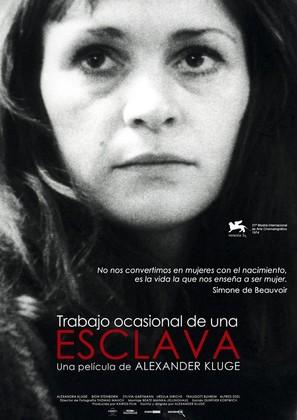 Gelegenheitsarbeit einer Sklavin - Spanish Movie Poster (thumbnail)
