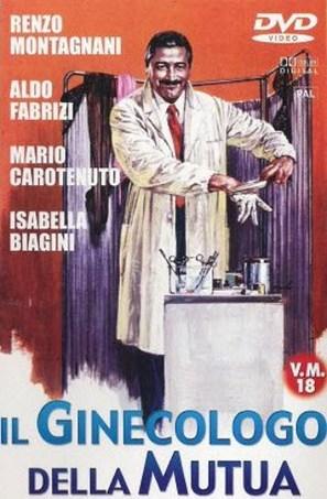 Il ginecologo della mutua - Italian DVD movie cover (thumbnail)