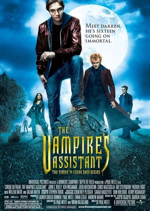 Cirque du Freak: The Vampire's Assistant - Movie Poster (thumbnail)