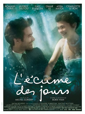 L'écume des jours - French Movie Poster (thumbnail)