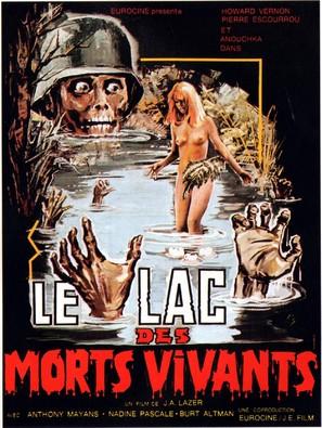 Le lac des morts vivants - French Movie Poster (thumbnail)