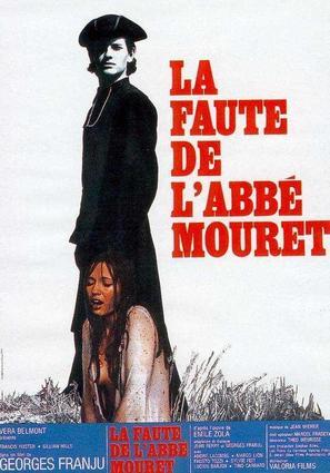 La faute de l'abbé Mouret - French Movie Poster (thumbnail)