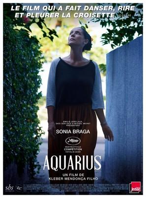 Aquarius - French Movie Poster (thumbnail)