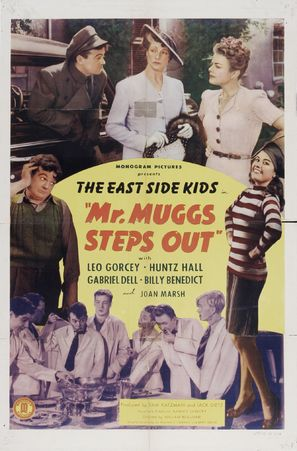 Mr. Muggs Steps Out - Movie Poster (thumbnail)