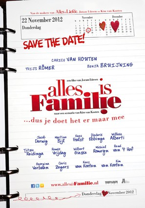 Alles is familie - Dutch Movie Poster (thumbnail)