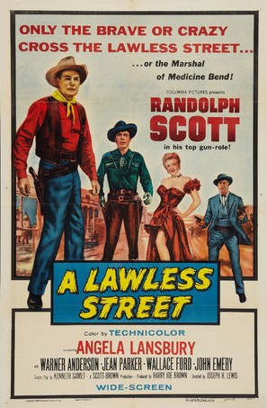 A Lawless Street - Movie Poster (thumbnail)