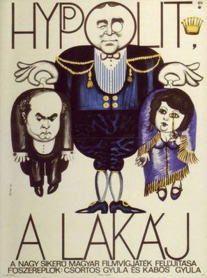 Hyppolit a lakáj - Hungarian Movie Poster (thumbnail)