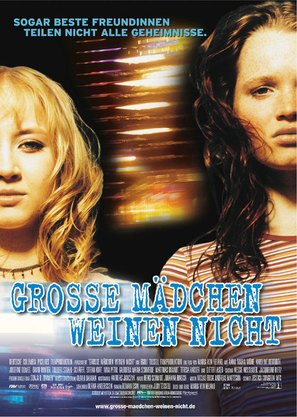 Große Mädchen weinen nicht - German Movie Poster (thumbnail)