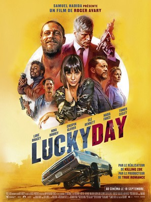 Lucky Day - French Movie Poster (thumbnail)